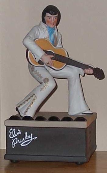 "Elvis ""Talkies"" MUSICAL PORCELAIN FIGURE"