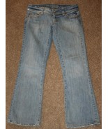 AMERICAN EAGLE Jeans 2 Short Stretch AE Artist 29 x 29 1/2 Low Rise Deni... - $16.40