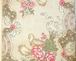 Apt bedrm drawer  3 27  square line fabric with finished edges muted antique floral colors linen  pink  blue  green 10 2 13 gw .74  5021 thumb155 crop