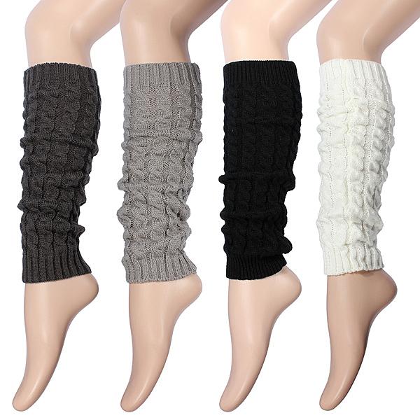 Women Knee High Socks, Winter Knit, Warmers, Legging