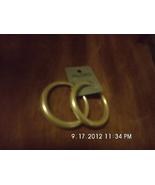 Aldo Cream Colored Hoop Earrings Retails $12.00 - $3.99