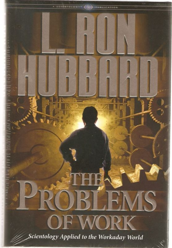 THE PROBLEMS OF WORK  RON HUBBARD 3 CD Set Issac Hayes Estate Personal Items