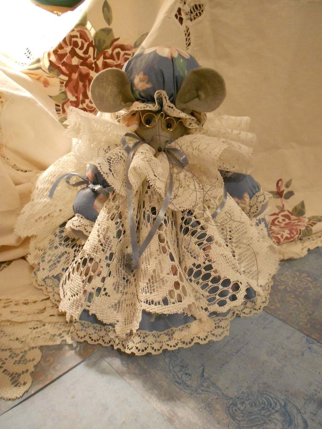 Mother's Day Special-Grandma Vacuum Cover/Country Mouse/Bag Stuffer/Tissue Cover