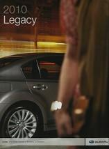 2010 Subaru LEGACY sales brochure catalog US 10 2.5i GT 3.6R Limited - $8.00