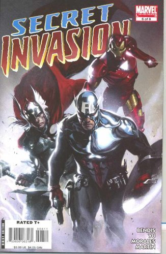 Secret Invasion #6 [Comic] by Brian Michael Bendis