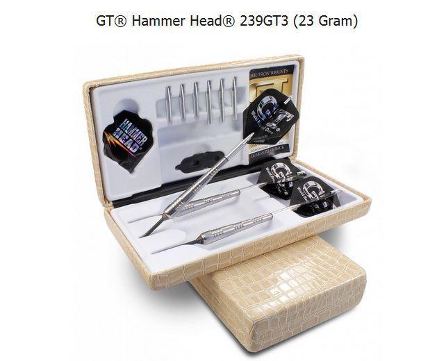 Bottelsen Hammer Head 239GT3 Steel Tip Dart Set 90% Tungsten Moveable Point