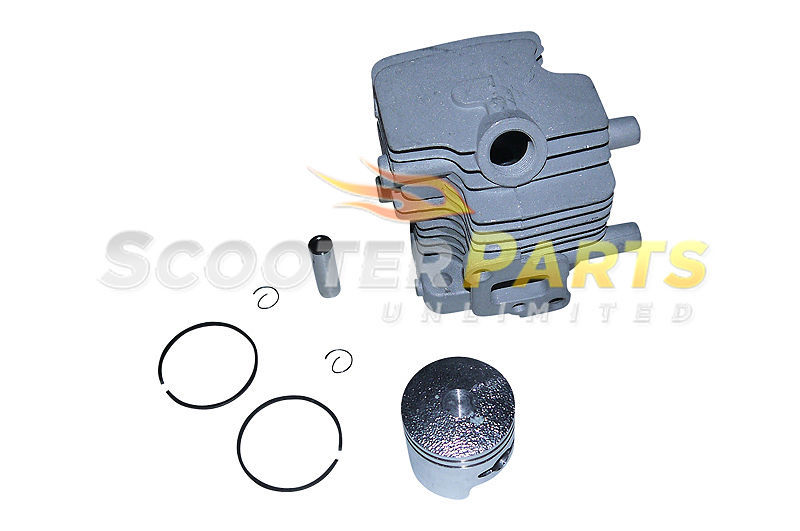 Cylinder Piston Kit Rings Go Ped Gas Scooter ZENOAH CY G23LH G2D 23cc Engines