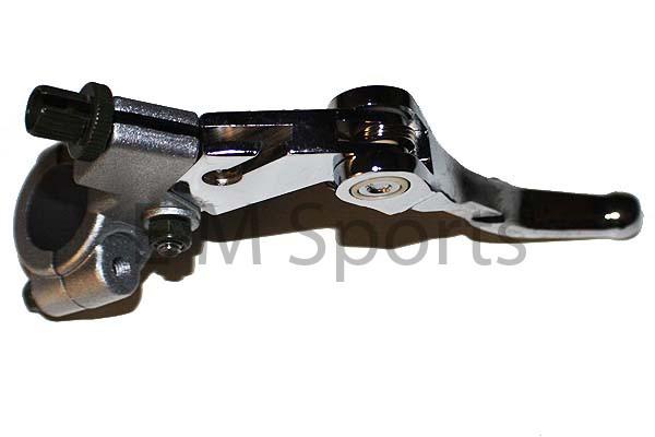 Clutch Lever Silver Parts For 80cc 85cc KAWASAKI KX80 KX85 Dirt Pit Moto Bike