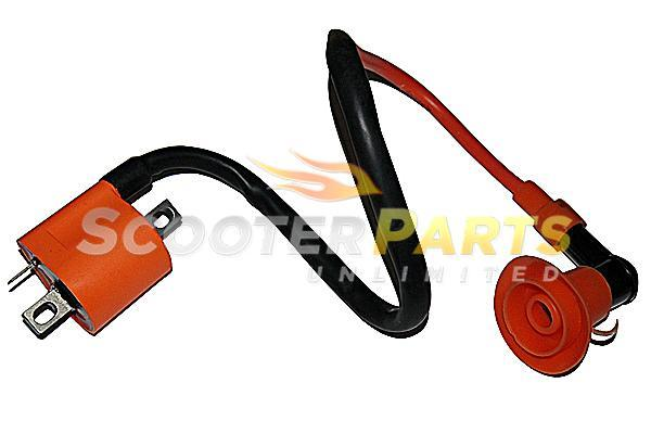 Performance Ignition Coil Magneto Honda NC50 NU50 Scooter Moped Bikes 49cc 50cc