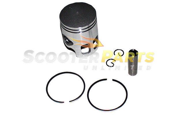 Piston Kit Rings Parts 2 Stroke Atv Quad 4 Wheeler ETON America Viper 49cc 50cc