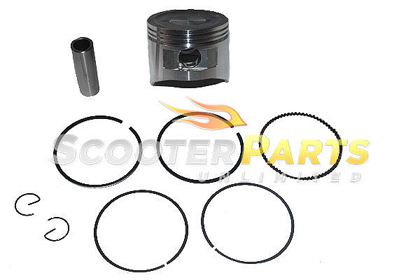 Piston Kit w Rings For HAWG TY Mini Bike 5.5HP 6.5HP 163cc 196cc Engine Motor