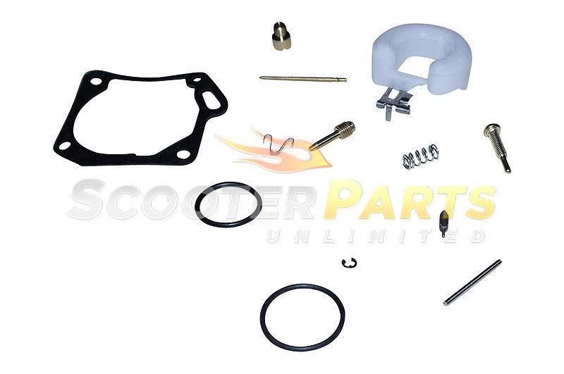 Atv Quad Buggy 4 Wheeler Polaris SCRAMBLER 50cc Carburetor Repair Rebuild Parts