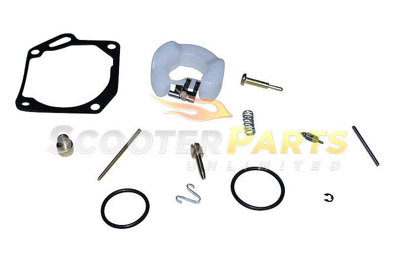 Carburetor Rebuild Repair Kit Yamaha Jog Minarelli Yuma Scooter Moped 50cc 90cc