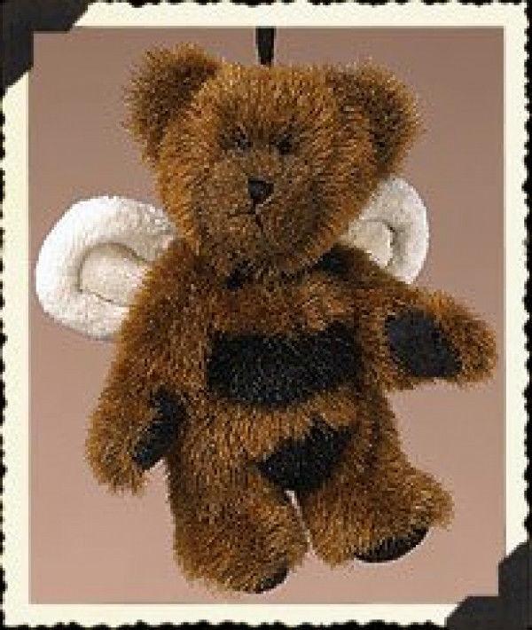 "Boyds Bears ""BEEZER"" #562465-  3.5"" Bee Bear Ornament- NWT- 2004 -Retired"