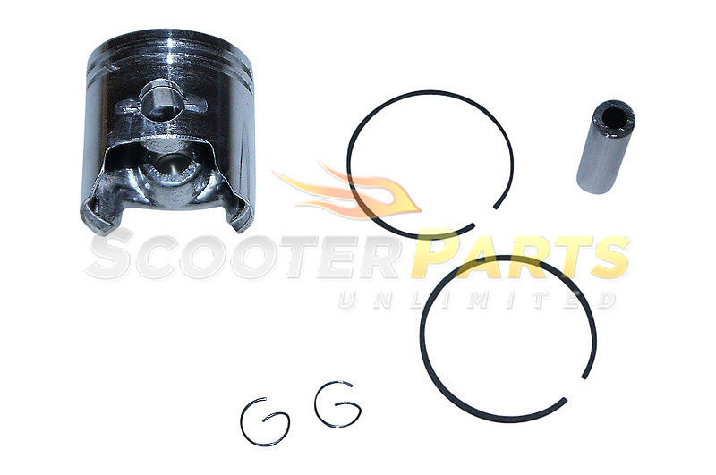 Piston Kit w Rings Pats Go Ped Big Foot Sport Gas Scooter Bike Zenoah G23LH 23cc