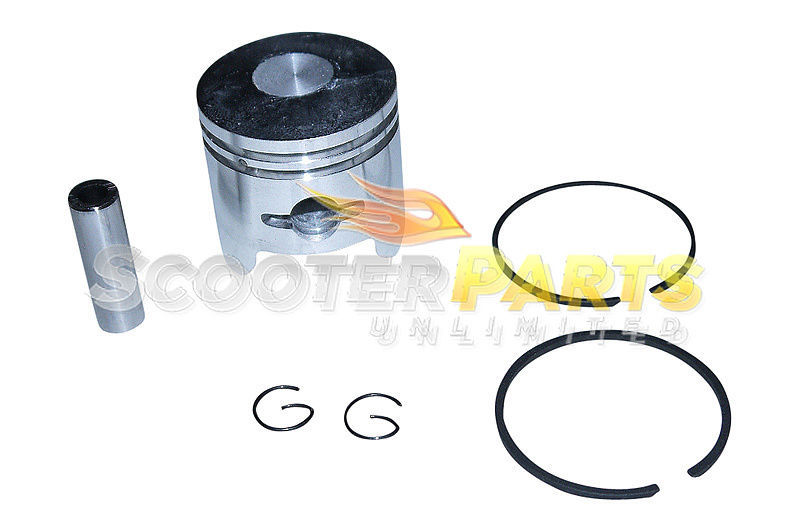 Piston Kit w Rings For X Ped Go Quad Liquimatic Gas Scooter Zenoah G23LH 23cc