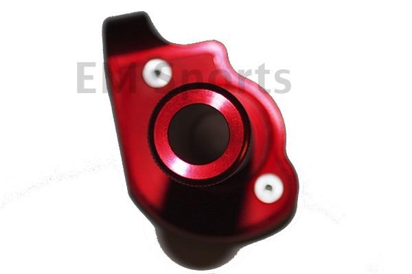 Dirt Pit Bike CNC Twist Throttle Control RED 80cc 85cc For Kawasaki KX80 KX85