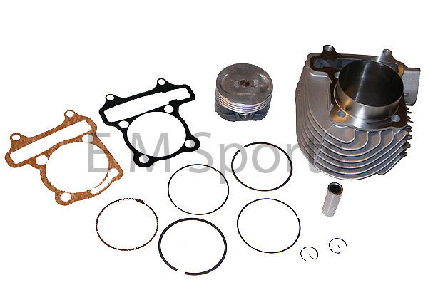 Go Kart 4 Wheeler 150cc to 180cc Big Bore Cylinder Kit Tomberline Crossfire 150