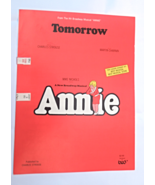 "1977 Vintage Sheet Music ""Tomorrow"" From the Hit Broadway Musical ""Annie... - $9.49"