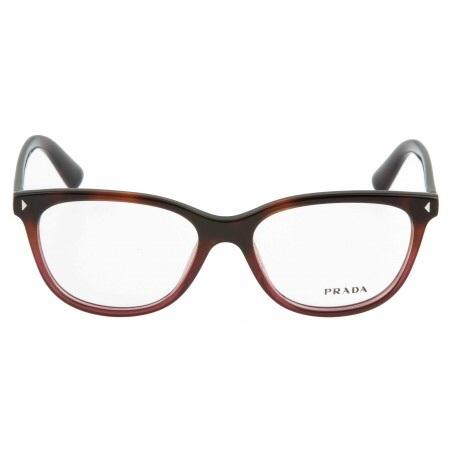 d1143af47c09 New Authentic Prada PR 14RV TWC-1O1 JOURNAL Havana Red Eyewear 52mm VPR 14RV