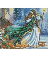 Dimensions Needlecrafts Counted Cross Stitch, Woodland Enchantress - $26.93