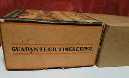 Vintage Ingraham Utility Alarm Clock Paper Box Container image 6