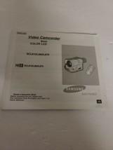 Samsung Video Camcorder Instruction Manual for SCL810, L860, L870 Original  - $8.56