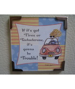 Linda Grayson gift magnet Car new - $4.00
