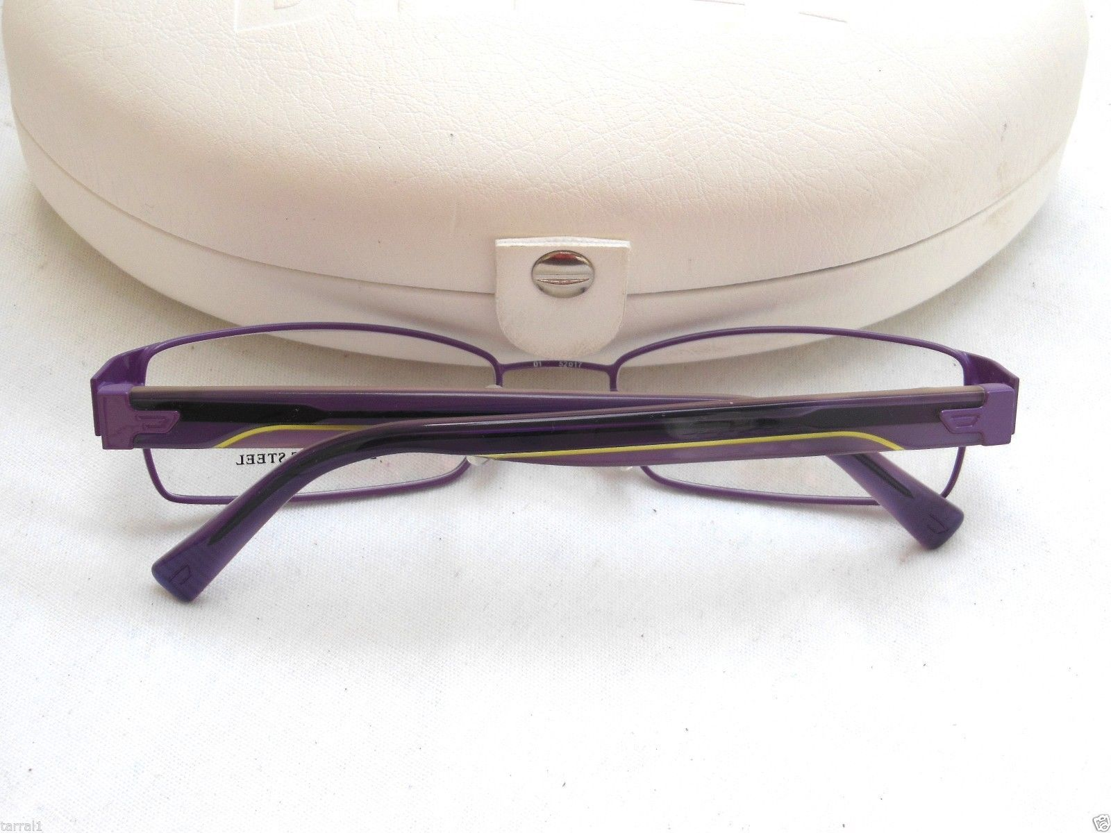NEW Diesel Optical Prescription Frames DV0159 RX Ready Violet W/Neon Stripe 52mm