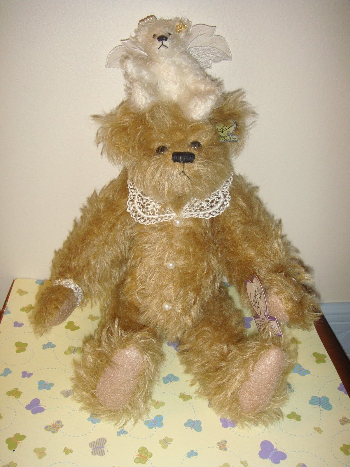 Annette Funicello Tiara Mohair Angel 19th Bear