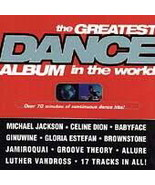 various artists: The Greatest Dance Album in the World (BRAND NEW CD) - $9.00