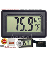 Avianweb MINI Thermo-Hygrometer: Digital Temper... - $9.90