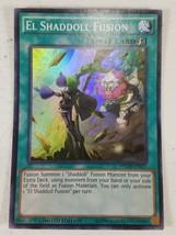 Yu-gi-oh! - El Shaddoll Fusion - NECH-ENS11 - Super Rare - Limited Ed. - $5.00