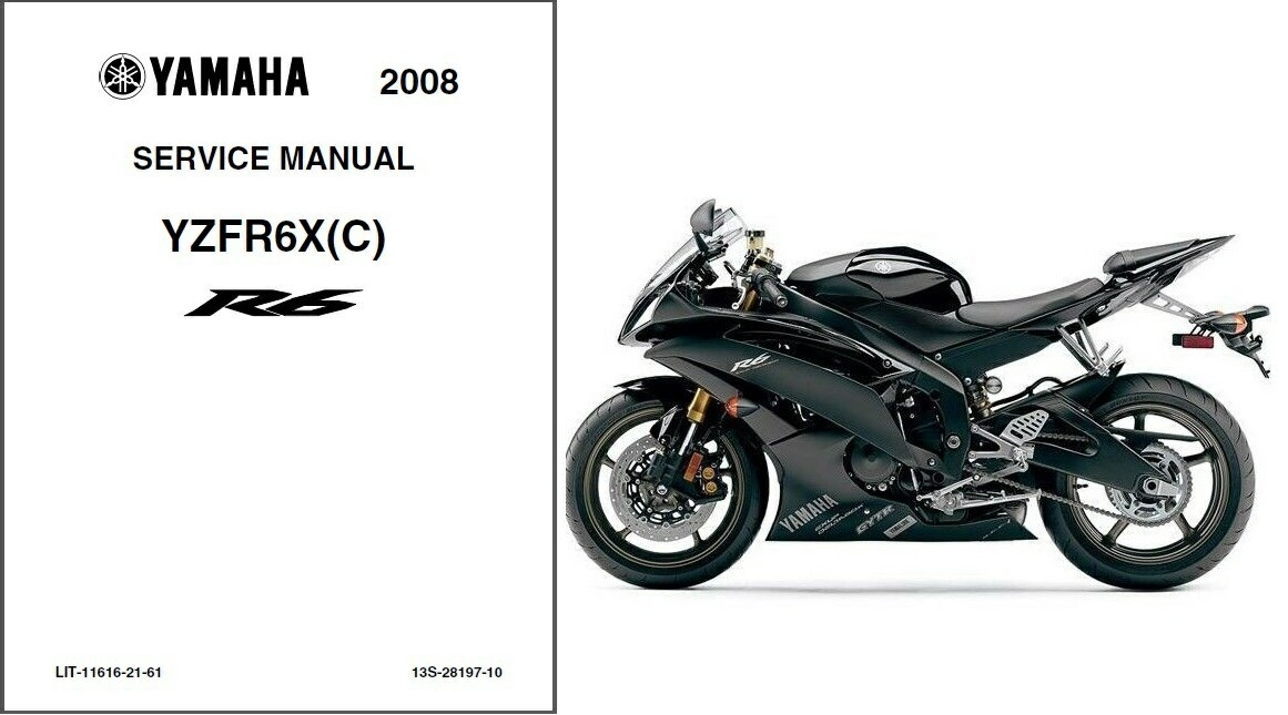 08 09 yamaha yzf r6 service repair shop and 50 similar items rh bonanza com 05 YZF- R6 08 R6 Exhaust