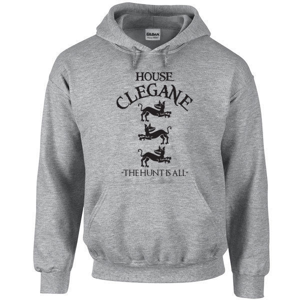 012 House Clegane Hoodie sigil the dog mountain hound game cool All Sizes/Colors