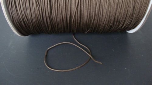 10 YARDS: 1.8mm CHOCOLATE LIFT CORD for Blinds, Roman Shades and More