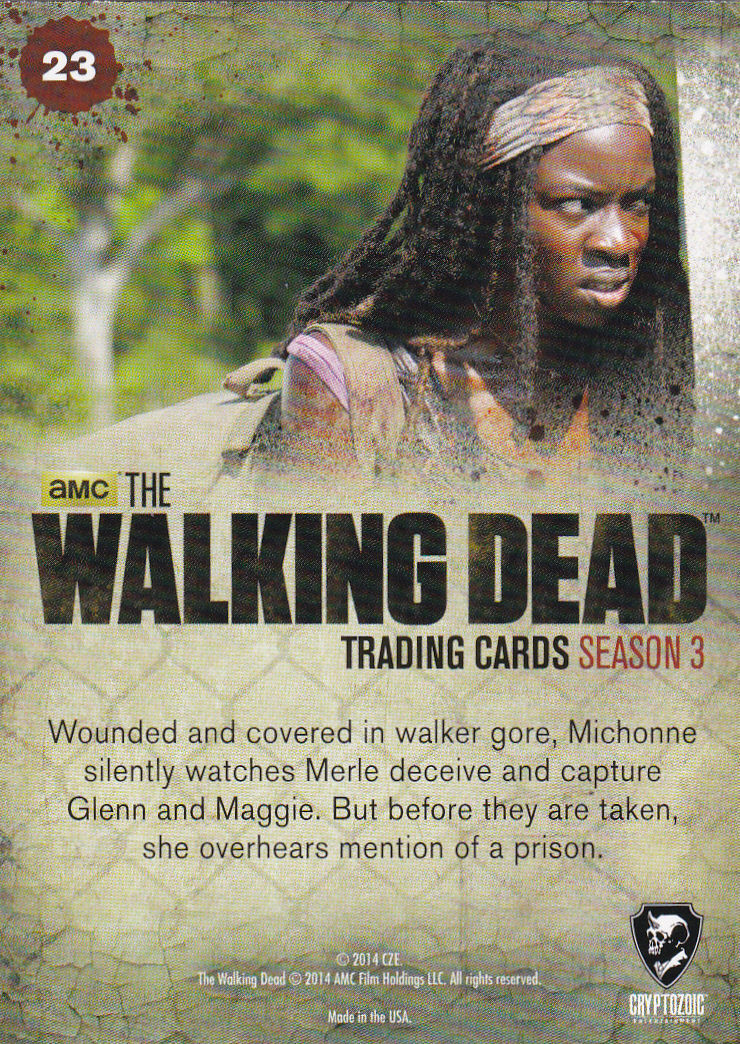 THE WALKING DEAD - SEASON THREE - Part 2 - **UNABLE TO HELP** #23 ONLY 99 CENTS!