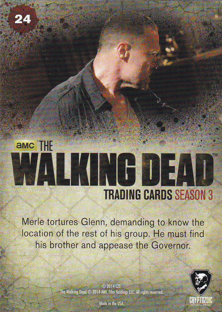 THE WALKING DEAD - SEASON THREE - Part 2 - **HOLDING OUT** #24 ONLY 99 CENTS!