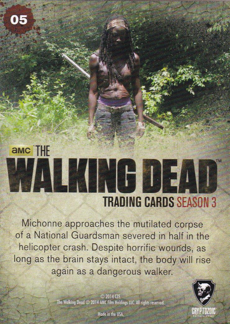 THE WALKING DEAD - SEASON THREE - Part 2 - **CRASH LANDING** #5 ONLY 99 CENTS!!