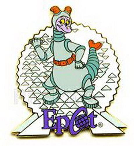 Disney - Figment - Epcot  - Spaceship Earth -  pin/pins
