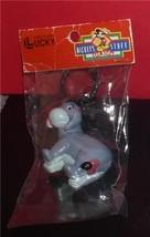 Eeyore  from Winnie the Pooh  Disney  Figurine  key chain made of PVC Mint - $24.18