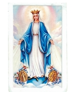 Laminated Prayer Card - Virgen Milagrosa - L300.0060 - $1.99