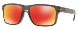 New Oakley Holbrook sunglasses Smoke Prizm Ruby Asian OO9244-28 AUTHENTI... - $161.37