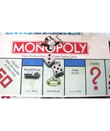 Vintage Monopoly Parker Brothers Real Estate Trading Game 1973 Collector - $29.95