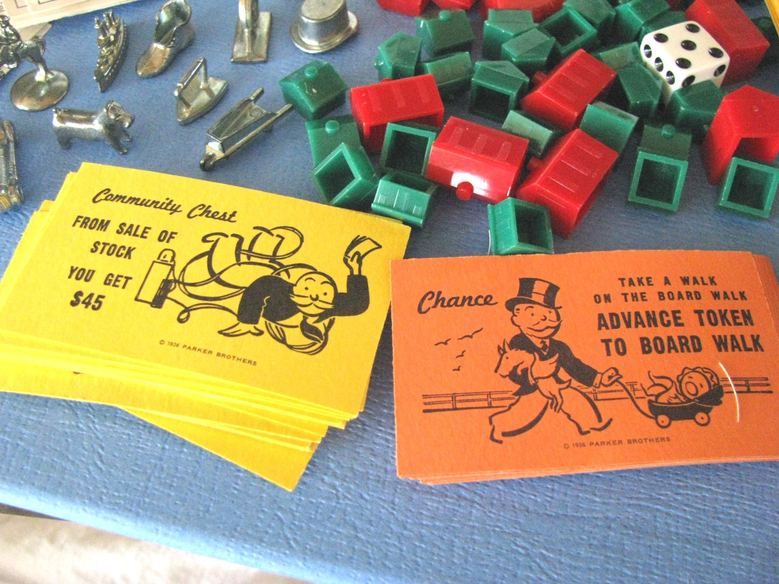 Vintage Monopoly Parker Brothers Real Estate Trading Game 1973 Collector