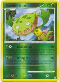 Carnivine 21/130 Reverse Holo Rare Diamond & Pearl Pokemon Card