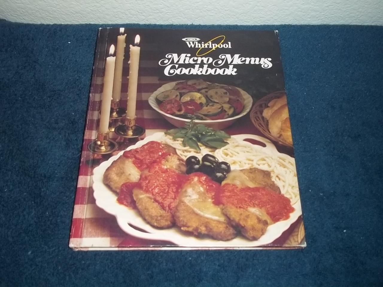 Whirlpool micro menus cookbook 1