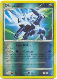Dialga 1/130 Reverse Holo Rare Diamond & Pearl Pokemon Card