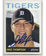 Jake Thompson Signed Autographed card 2013 Topps Heritage Minor - $9.90