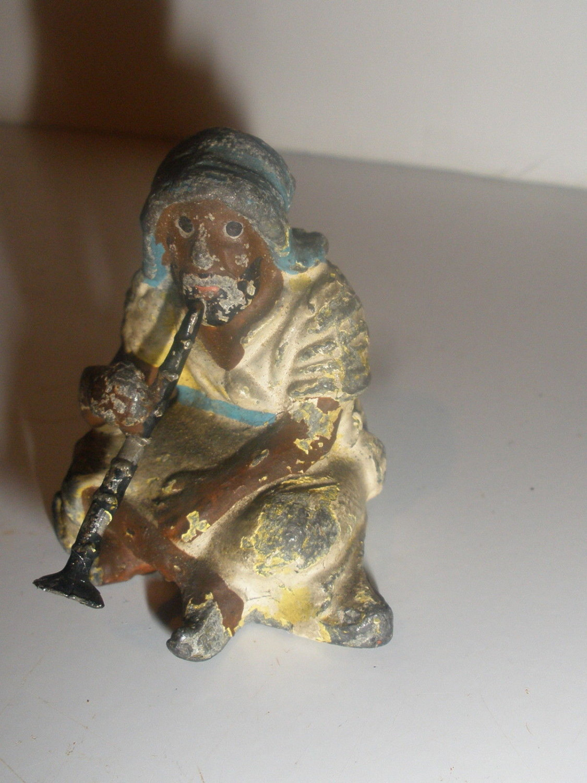 Georg Heyde, Germany - Five Polychrome Orientalist Moor Figurines